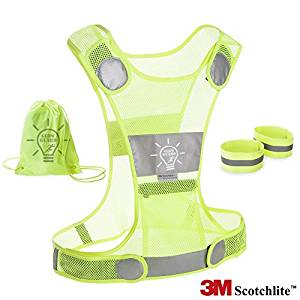 GlowGuard Reflective Running Vest
